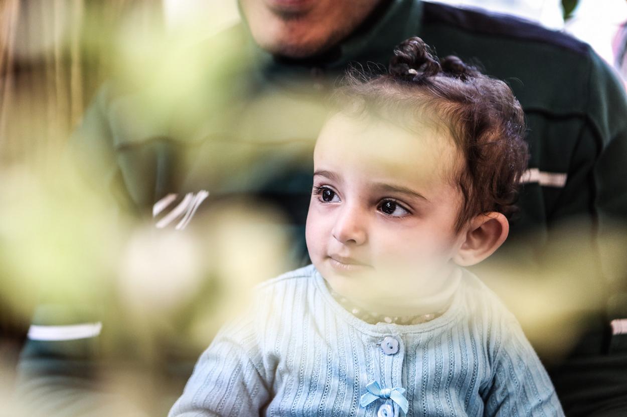 Una familia de Alzoor de Dier (Siria)